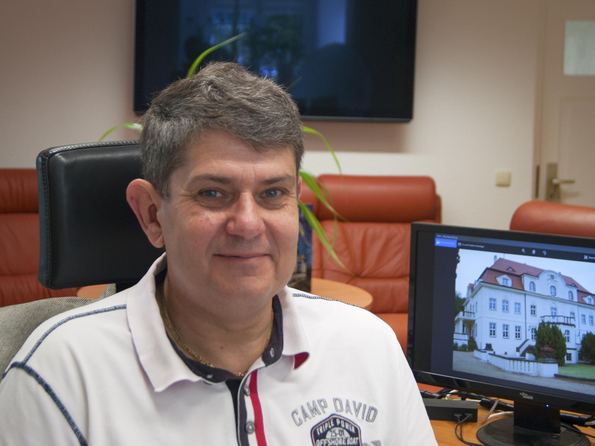 Portrait vom Geschäftsführer Oliver Wende